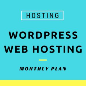 Wordpress hosting image