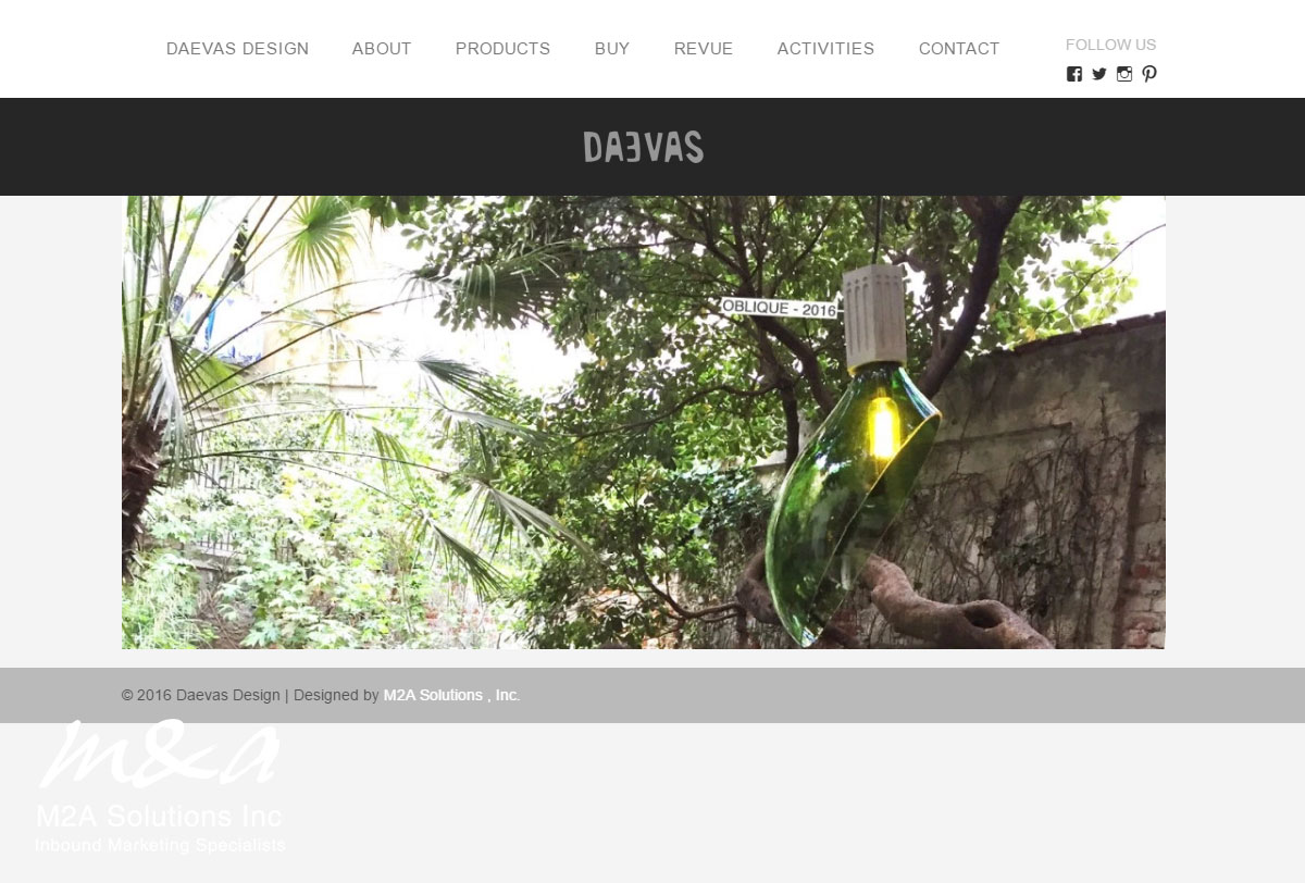 Deavs Website design