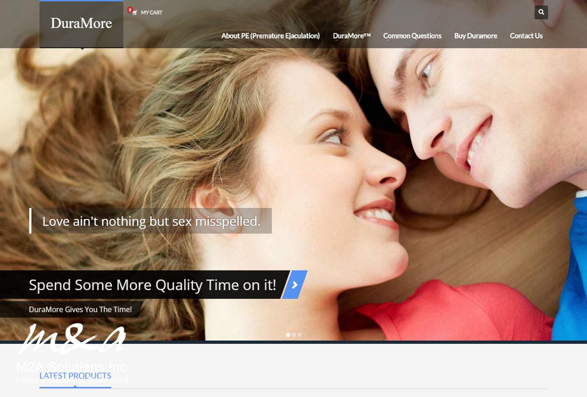 Duramore web design