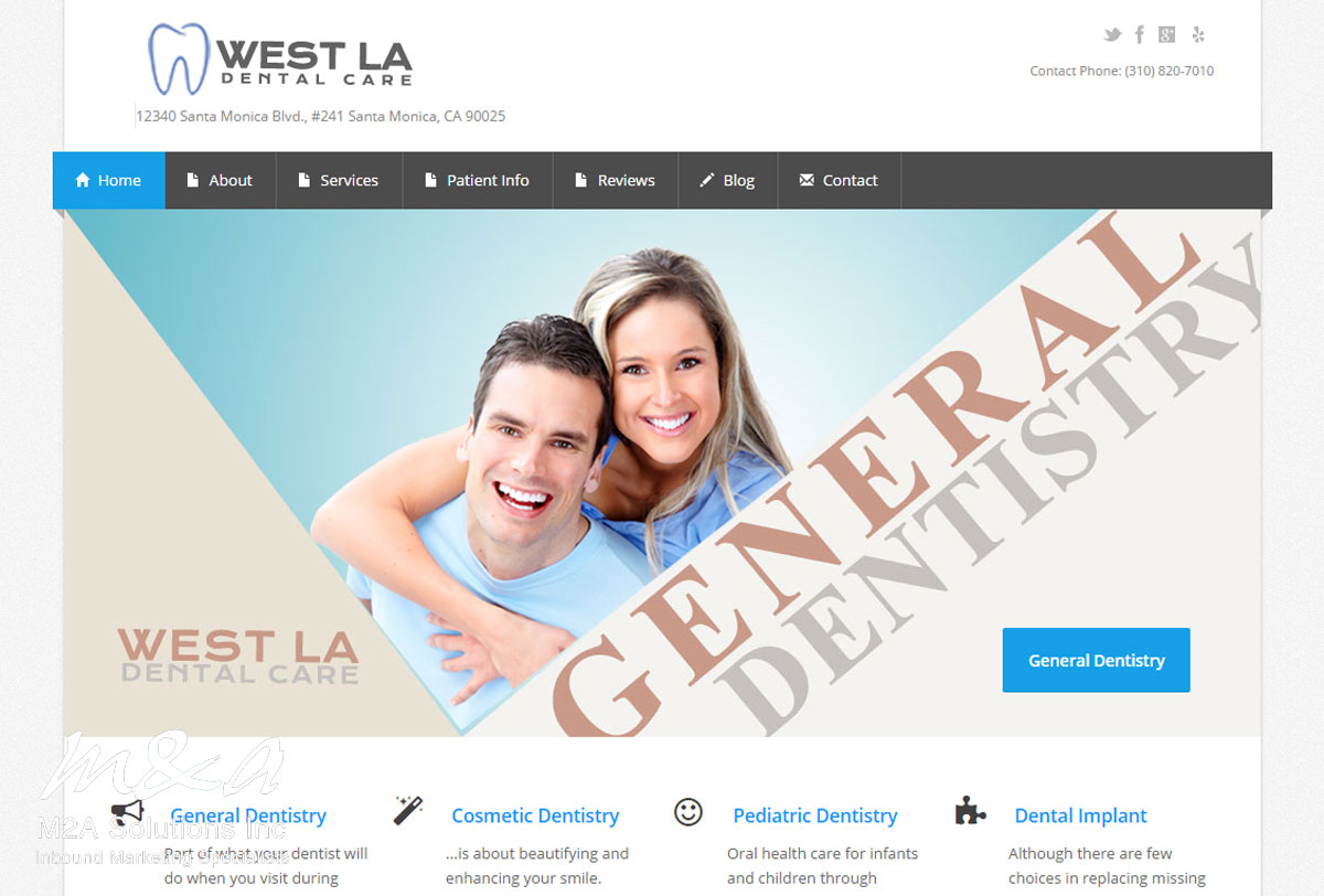 Project: West LA Dental Care